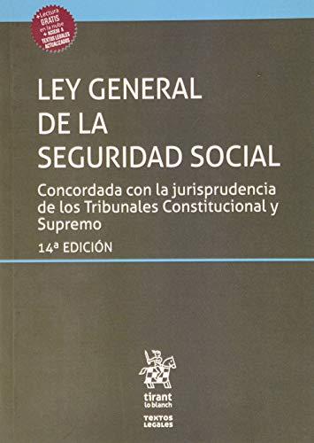 Ley General De La Seguridad Social 14ª Edición 2020 (Textos Legales)