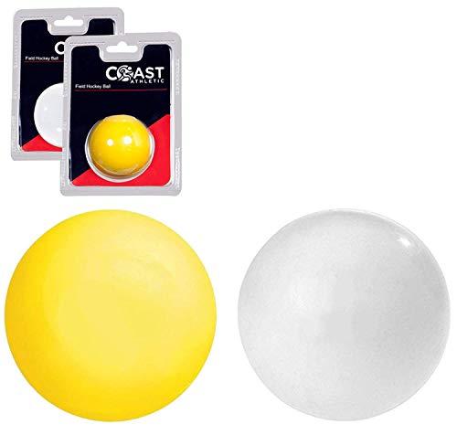 Coast Athletic Field Hockey Ball   Smooth Regulation Field Hockey Ball, White