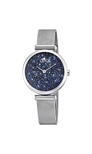 Lotus Watches Reloj Análogo clásico para Mujer de Cuarzo con Correa en Acero Inoxidable 18564/2