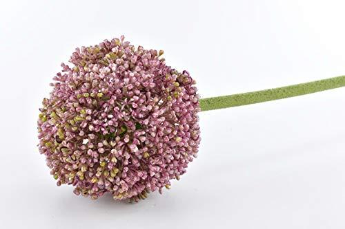 DPI Fideo - Künstliches Allium Zierlauch Lavender Pink Rosa 74cm