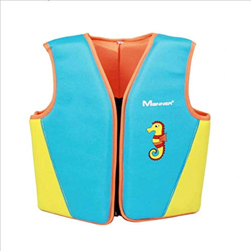 N-B Chaleco Salvavidas para niños, Chaleco de flotabilidad, Equipo de natación de Aprendizaje portátil, Traje de baño de Espuma, Accesorios para Piscina de flotabilidad