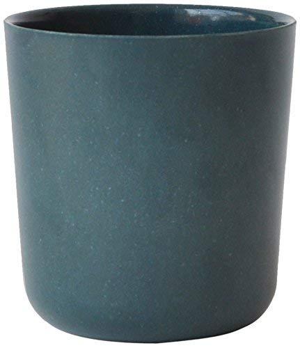 EKOBO Gusto Trinkbecher, 330 ml, blue abyss, aus Bambus / Melamin, FSC-zertifiziert, BPA-frei, spülmaschinengeeignet