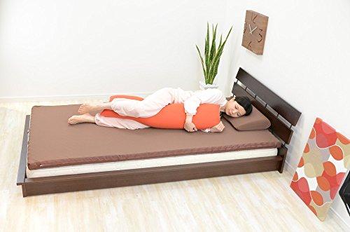 エムールiruneruTOKYO『マイクロビーズクッションmochimochi-もちもち-ロングピロー(抱き枕)Mサイズ』