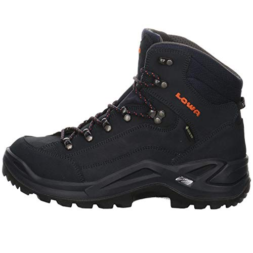Lowa Herren Renegade GTX Mid Ankle Boot,Navy Orange,46.5 EU