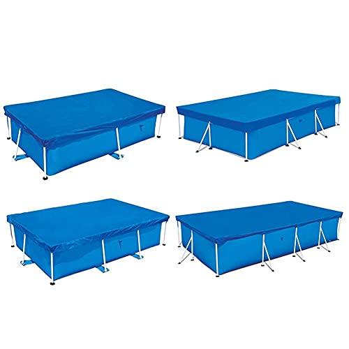 N.B Cubierta solar para piscina, rectangular, resistente a la lluvia, antioscurecimiento y calor, fácil de reemplazar para el suelo al...