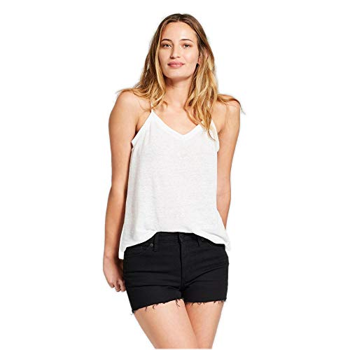 Universal Thread Women's High-Rise Shortie Jean Shorts Black Denim 4 Black