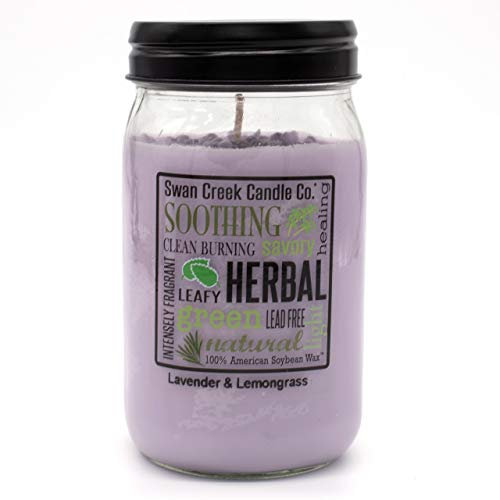 Swan Creek Candle Lavender & Lemongrass 24 Oz Candle