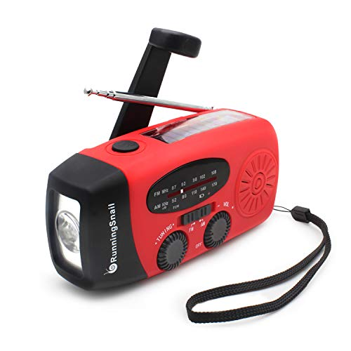 Wind Up Solar Radio,Emergency Hand Crank Radio Dynamo Radio with...