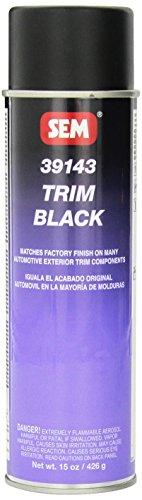 SEM 39143 Trim Black Aerosol - 15 oz.