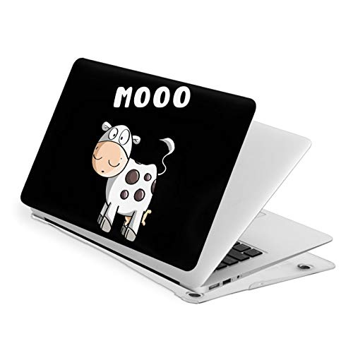 Cute Cow MacBook Air 13 Inch Case Slim Fits with A1932 Hard Shell Protective Cover Compatible with Apple Mac Air 13