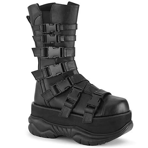Demonia NEPTUNE-210, Blk Vegan Leather - Größe: 37 EU