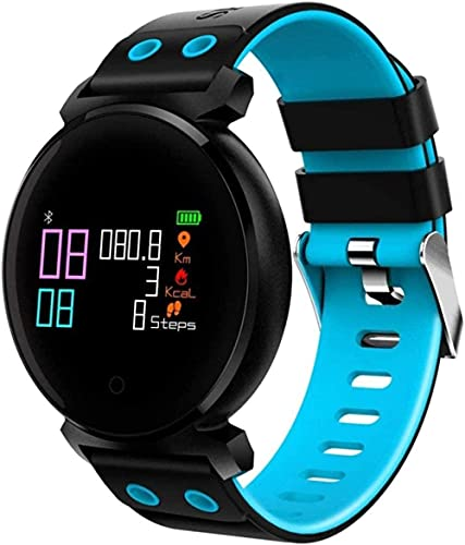 Smart Bluetooth Watch pantalla a color de alta definición compatible con podómetro presión arterial monitoreo del sueño del ritmo cardíaco compatible con Apple Android teléfono móvil