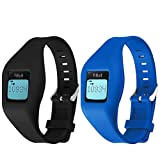 HWHMH Newest Replacement Band for Fitbit Zip Accessory Wristband Bracelet (No Tracker) (Black&Blue)