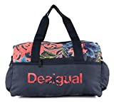 Desigual Geopatch Gym Bag Peacoat