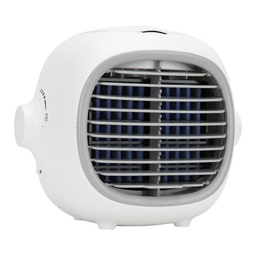 Ventilatore da tavolo, aggiungi ghiaccio e usalo in sicurezza Mini condizionatore d'aria per fornire un'aria migliore e goderti l'estate fresca