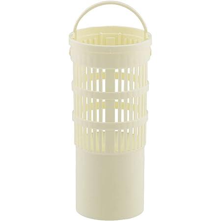 カクダイ 排水口水切りカゴ アイボリー 約直径7.8×高さ16.4cm 流し台 バスケット SS 4530-4