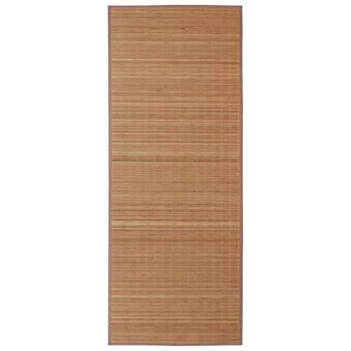 vidaXL Bambus Matte Bambusteppich Küchenteppich Bambusmatte Vorleger Läufer