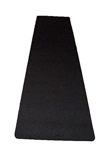autix Dartteppich Darts Teppich Dartmatte Dart Turniermatte schwarz robust 67 x 237