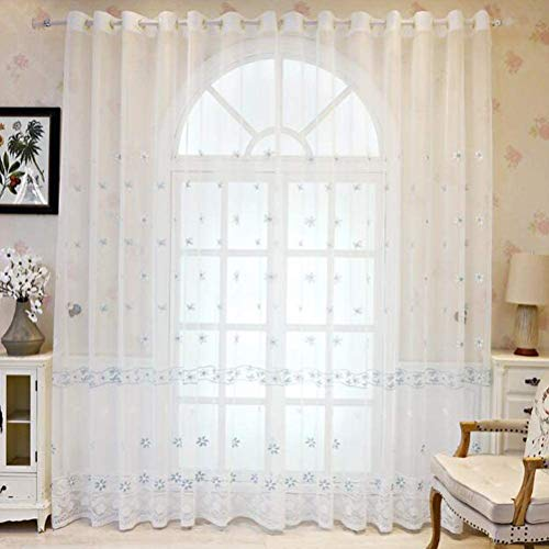 cortinas visillos dormitorio infantil
