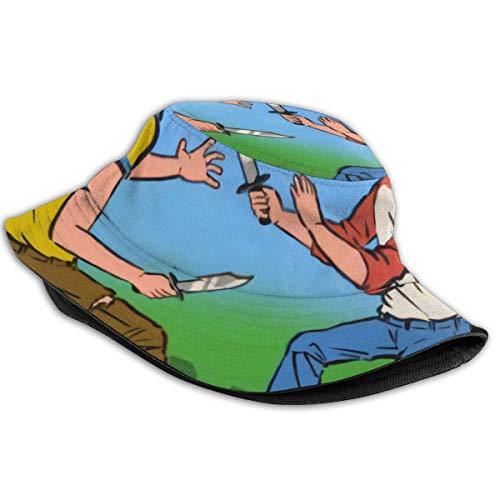 asdew987 My First Knife Fight Mens & Womens Trucker Fisherman Caps Hat Cap