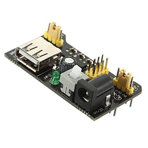 DIBAO 5 stücke MB102 Breadboard Netzteil Modul Adapter Shield 3.3V / 5V für Arduino - Produkte, die mit verschriebenen Arduino-Boards zusammenarbeiten