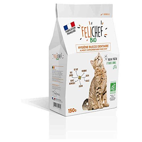 Félichef Friandises Hygiène Buco Dentaire pour Chat 150 g