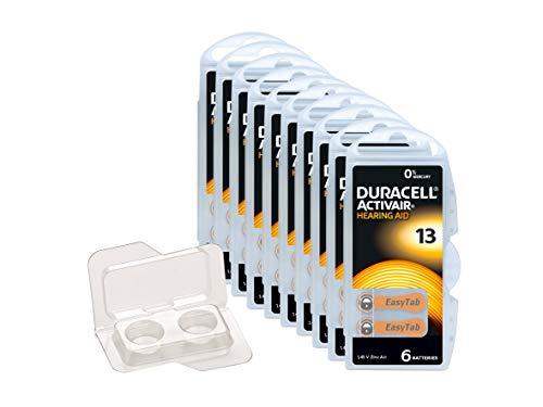 WNS-emg-World Big Box Pack Duracell Activair Typ 13 Hörgerätebatterie PR48 ZL2, 60 Stück