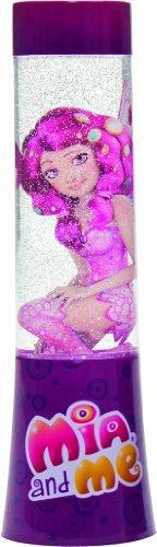 Joy Toy Mia and Me LED-Lavalampe mit Glitter Mia Figur - zylinderförmig, 15 x 4,5 cm 118087