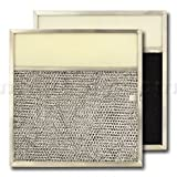 American Metal Aluminum/Carbon/Lens Range Hood Filter -11 1/2 x 11 3/4 x 3/8 Inches - 3-1/2 Inch Lens...