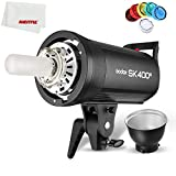 Godox SK400II 400Ws GN65 Professional Studio Flash Strobe with Built-in 2.4G Wireless X System Creative Shooting SK400 Upgrade