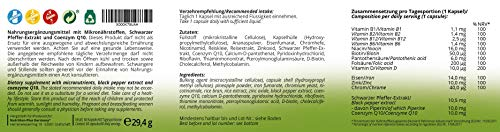 STOFFWECHSEL Aktiv Kapseln - beliebtes Produkt in Diät & Stoffwechselkur - natürlich ohne Zusatzstoffe - Ergänzungsmittel von Ernährungswissenschaftlern - Stoffwechselprodukt