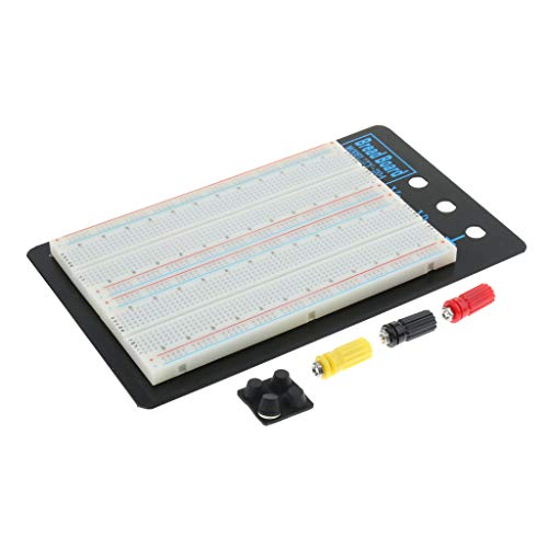 Sharplace Placa de Circuito Experimental Integrada 1660 Tie-Points Breadboard