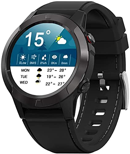 TCHENG Hombres Sport Watch Smart Watch IP68 Pedómetro Impermeable Fitness Tracker Monitor de Ritmo cardíaco Mujer Reloj Smartwatch para iOS Android
