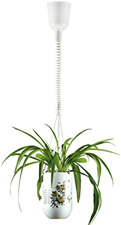 OOFAY LIGHT Pflanze Kronleuchter LED Gang Balkon Restaurant Bar Kunst Dekorative Topf Kronleuchter (Ohne Pflanzen)