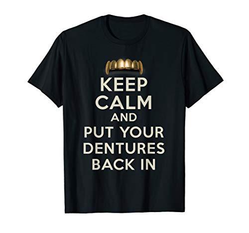 Funny Dentist Dental Dentures Teeth Dentures Wearers