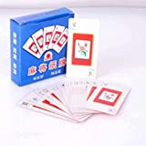HSTF Mahjong Solitaire - Premium - Mahjong Poker Paper Mahjong Playing Cards Travel Silent Soft Anestesia