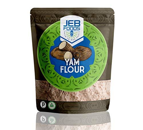Yam flour – Nigerian Amala/Elubo flour 4lbs bag (Dioscorea rotundata) gluten-free, grain free, non-gmo, nut-free, 100% natural, naturally grown, vegan, Kosher.