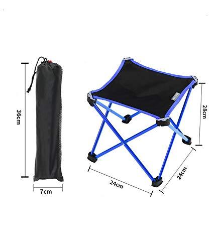 mkkwp Outdoor Möbel Camping Aluminiumlegierung Klappstuhl Angeln Picknick Gartenstuhl Oxford Tuch Sitz Im Freien Wasserdichte Hocker