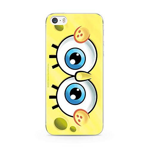 Ert Group NPCSBOB8115 Custodia per Cellulare SpongeBob 019 iPhone 5/5S/SE