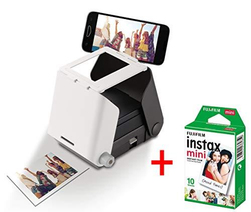 KiiPix Set Foto-Drucker für Smartphone mit Film Fujifilm Instax Mini