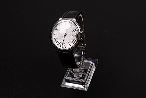 lasenersm 2Pack of Watch Jewelry Bracelet Display Stands Rack Holder Showcase for Home or Store Usage,Transparent