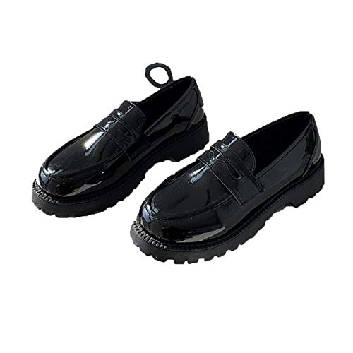 Otoño Primavera Mujeres Mocasines de Fondo Suave Deslizamiento en los Zapatos de Punta Redonda de tacón bajo al Aire Libre Ocio Moda Zapatos de Boca Baja