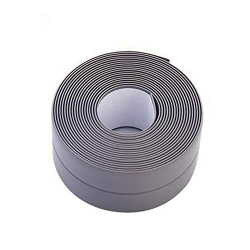 ZNXSHTSH Wall 1PC 3.2Mx22 / 38 mm de sellado de cinta de la cinta de baño ducha fregadero del baño de sellado de cinta de PVC blanco auto adhesivo impermeable de la etiqueta...