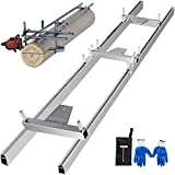 VBENLEM Rail Mill Guide System 5 FT Chainsaw Mill Rail Guide with 3...