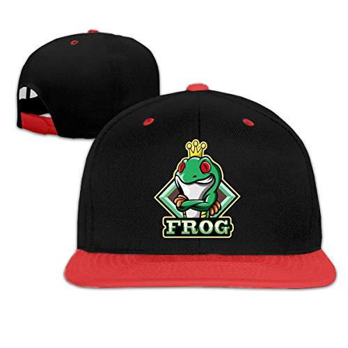Lsjuee Frog with Crown Gorra de bisbol Unisex Popular de Hip Hop