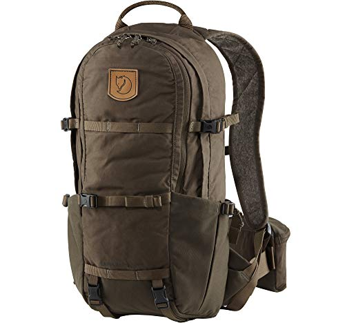 FJÄLLRÄVEN Unisex-Adult Lappland Hike 15 Luggage- Messenger Bag, Dark Olive, 47 cm