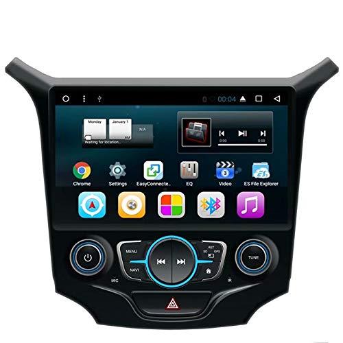TOPNAVI pour Chevrolet Cruze 2015 2016 2017 9 Pouces Android 7.1 Voiture GPS Navigation Radio Stéréo Player avec 32 Go R0M 2 Go de RAM WiFi 3G RDS Lien Miroir FM AM BT Audio Vidéo