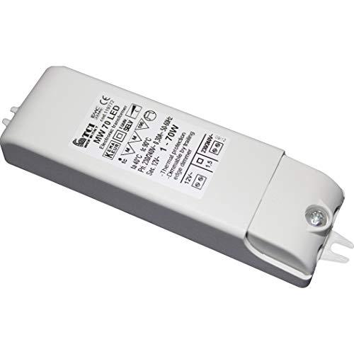 TCI MINIWOLF 70 12V AC LED Transformator 1-50W Retrofit 119772
