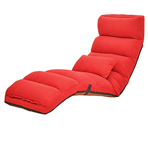 WALY Lounge Chair, Modern Fashioncolor, Lazy Sofa Floor, Folding Chaise, Seater Thick Padding High Density Comfort Reclining Living Room