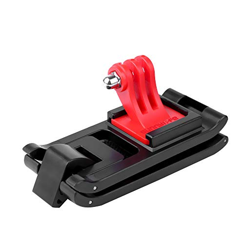 HSKB Action Camera Multiple Strap Holder Stabilisator houder voor DJI OSMO Action 4K Camera Accessoires Rugzak Gefixeerd riem Adapter houder Clip monteren